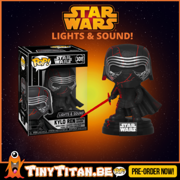 Funko POP! Kylo Ren Light Up & Sound Electronic Star Wars PRE-ORDER