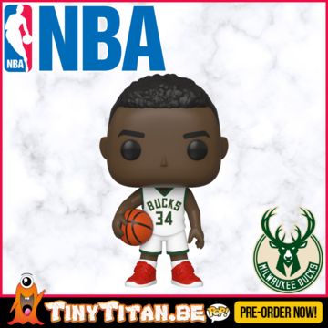 Funko POP! Giannis Antetokounmpo - NBA Bucks PRE-ORDER