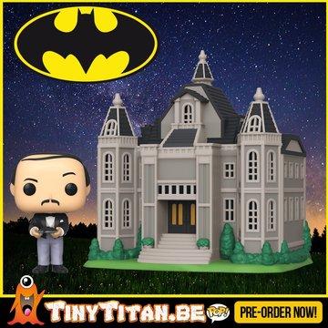 Funko POP! TOWN Wayne Manor w/ Alfred - Batman PRE-ORDER