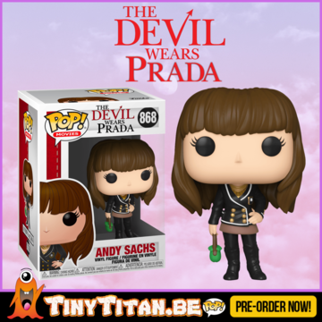 Funko POP! Andy Sachs - The Devil Wears Prada PRE-ORDER
