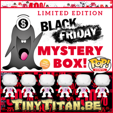 POP! The Black Friday Special Mystery Box LE
