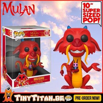 Funko POP! Disney Mushu 10 INCH - Mulan PRE-ORDER