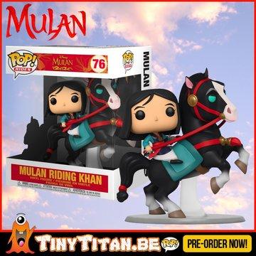 Funko POP! Disney Mulan on Khan Ride - Mulan PRE-ORDER