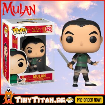 Funko POP! Disney Mulan As Ping - Mulan PRE-ORDER