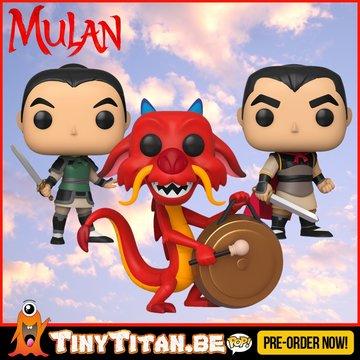 Funko POP! Disney Bundle of 3 - Mulan PRE-ORDER