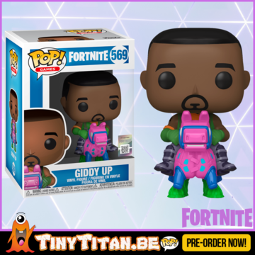 Funko POP! Giddy Up - Fortnite PRE-ORDER
