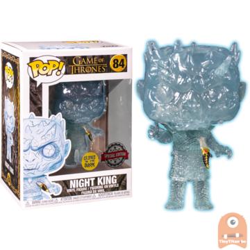 POP! Game of Thrones Crystal Night King w/ Dagger GITD #84