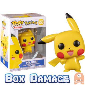 POP! Games Pikachu Waving #553 Pokemon Box DMG