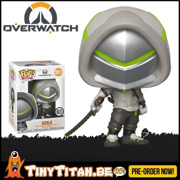 Funko POP! Genji Exclusive - Overwatch PRE-ORDER