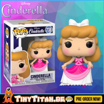 Funko POP! Cinderella in Pink Dress - Cinderella Disney PRE-ORDER
