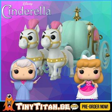 Funko POP! Bundle of 3 - Cinderella Disney PRE-ORDER
