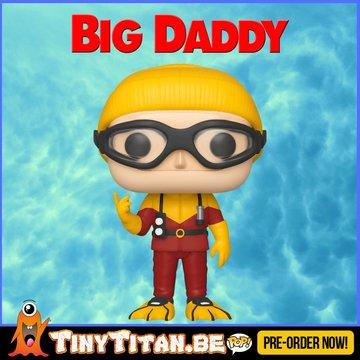 Funko POP! Scuba Sam - Big Daddy PRE-ORDER