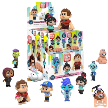 Mystery Mini Blind Box Ralph Breaks The Internet - Wreck it Ralph II