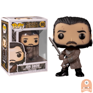 POP! Game of Thrones  Jon Snow battle for Winterfell #80