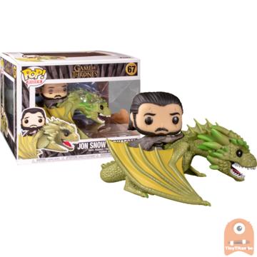 POP! Game Of Thrones Jon Snow & Rhaegal Ride #67