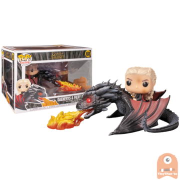 POP! Game of Thrones Daenerys with Fiery Drogon #68
