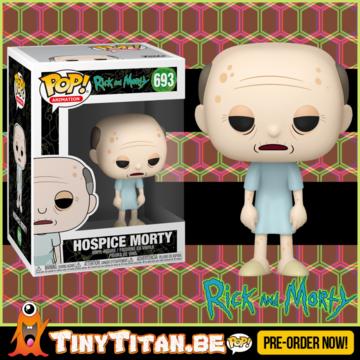 Funko POP! Hospice Morty - Rick & Morty PRE-ORDER
