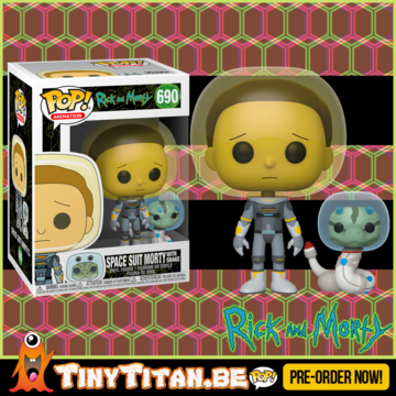 Funko POP! Morty Space Suit w/ Snake - Rick & Morty PRE-ORDER