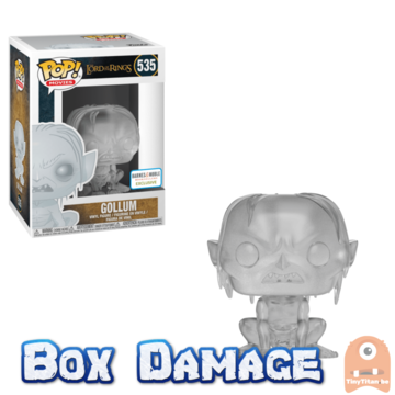 POP! Movies Invis Gollum #535 Lord of the Rings Excl. - DMG