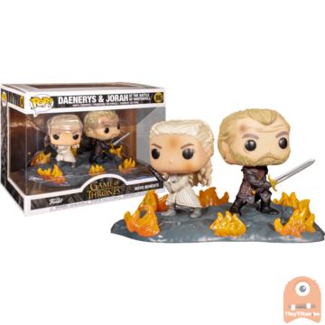 POP! Game Of Thrones Daenerys & Jorah Movie Moment at The Battle of Winterfell #86