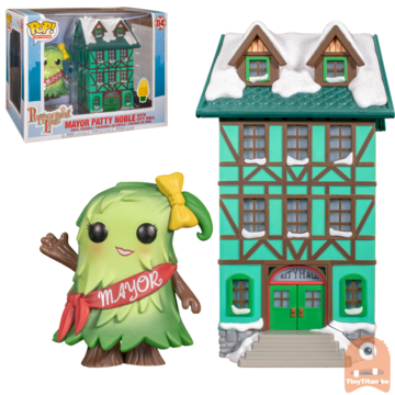 Funko POP! Town: Peppermint Lane - Patty Noble with Town Hall #04 (Lights Up!)