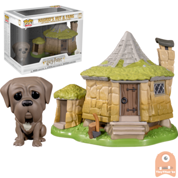 Funko POP! Town: Hagrid's Hut & Fang - Harry Potter #08
