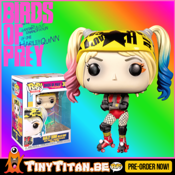 Funko POP! Harley Quinn Roller Derby - Birds of Prey - DC PRE-ORDER