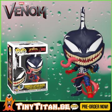 Funko POP! Captain Marvel Venomized PRE-ORDER