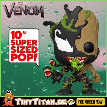 Funko POP! Groot 10 INCH Venomized PRE-ORDER
