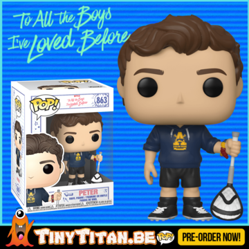 Funko POP! Peter w/ Scrunchie - To all the Boys i've loved before PRE-ORDER