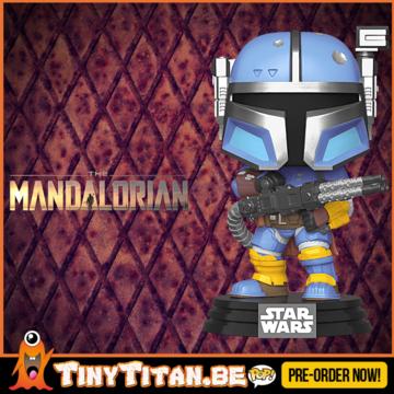 Funko POP! Heavy Infantry Mandalorian - The mandalorian - Star Wars Pre-Order