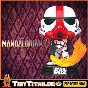 Funko POP! Incinerator Mandalorian - The mandalorian - Star Wars Pre-Order