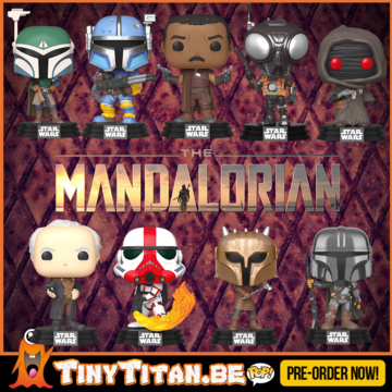 Funko POP! Bundle of 9 - The mandalorian - Star Wars Pre-Order