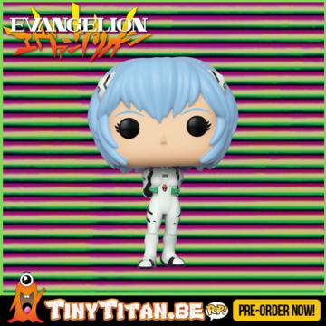 Funko POP! Rei Ayanami - Evangelion Pre-Order
