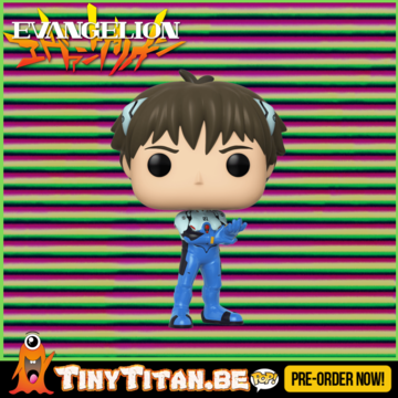 Funko POP! Shinji Ikari - Evangelion Pre-Order