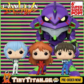 Funko POP! Bundle of 4 - Evangelion Pre-Order