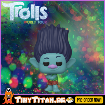 Funko POP! Branch - Trolls World Tour Pre-Order