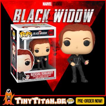 Funko POP! Natasha Romanoff - Black Widow Pre-Order