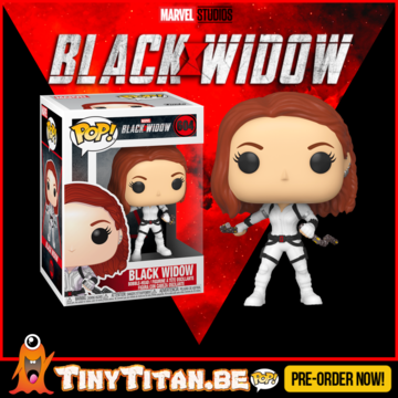Funko POP! Black Widow White Suit - Black Widow Pre-Order
