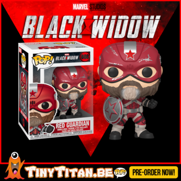 Funko POP! Red Guardian - Black Widow Pre-Order
