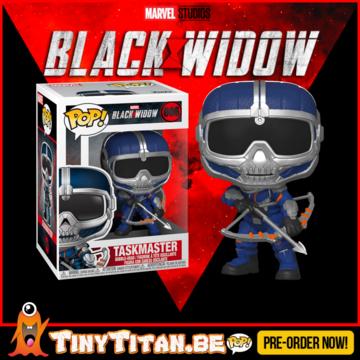 Funko POP! Taskmaster w/ Bow - Black Widow Pre-Order