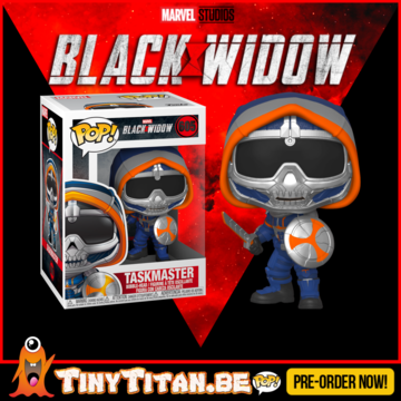 Funko POP! Taskmaster w/ Shield - Black Widow Pre-Order