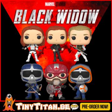 Funko POP! Bundle of 6 - Black Widow Pre-Order