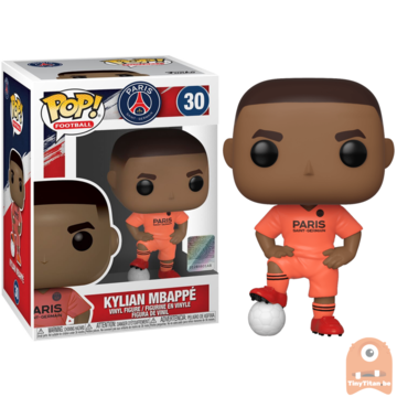 POP! Sports Kylian Mpappé Orange Shirt #30 PSG