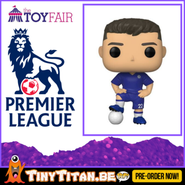 Funko POP! Christian Pulisic - Chelsea - Football Pre-Order