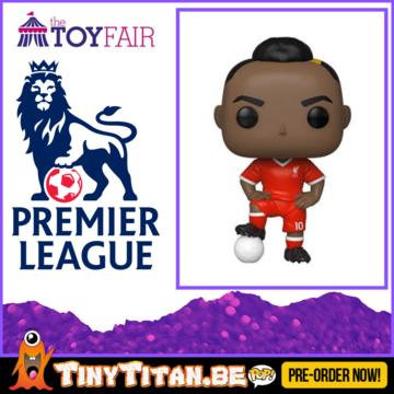 Funko POP! Sadio Mané - Liverpool - Football Pre-Order