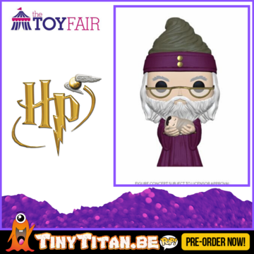 Funko POP! Dumbledore w/ baby Harry - Harry Potter Pre-Order