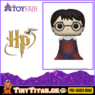 Funko POP! Harry w/ Invisibillity Cloak - Harry Potter Pre-Order