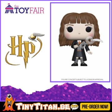 Funko POP! Hermione w/ Feather - Harry Potter Pre-Order