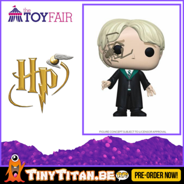 Funko POP! Malfoy w/ Whip Spider - Harry Potter Pre-Order